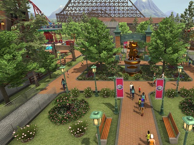 Rollercoaster tycoon Worlds